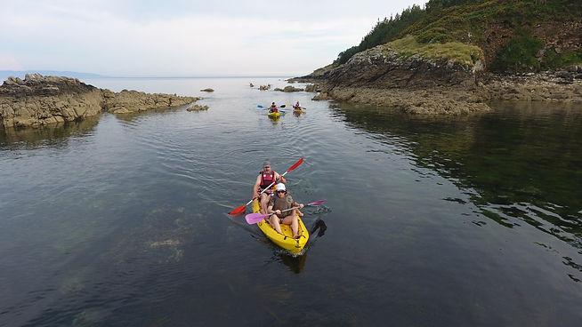 Rutas en kayak por Corcubion