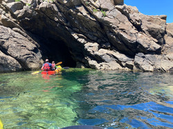 Ruta en kayak por Finisterre