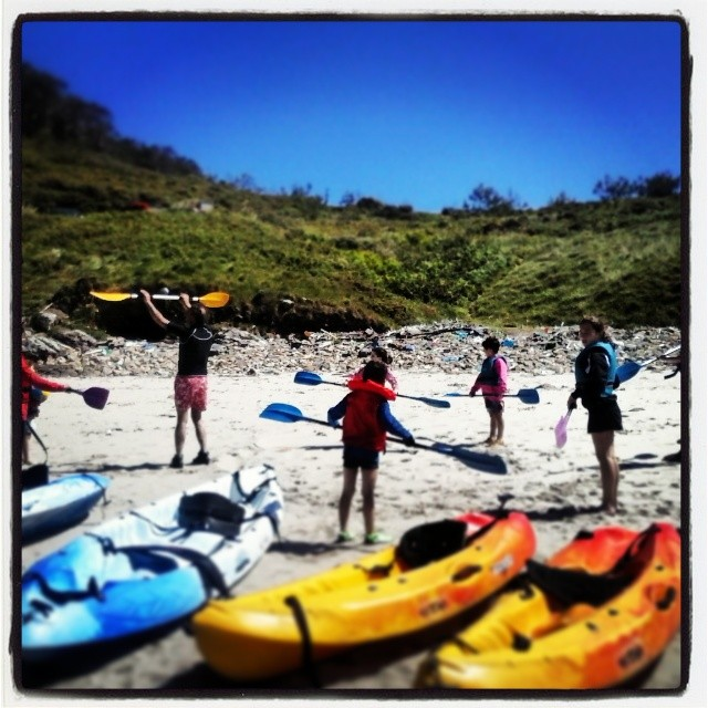 Kayak_niños