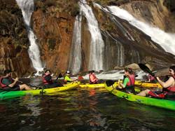 Kayak por el Ezaro