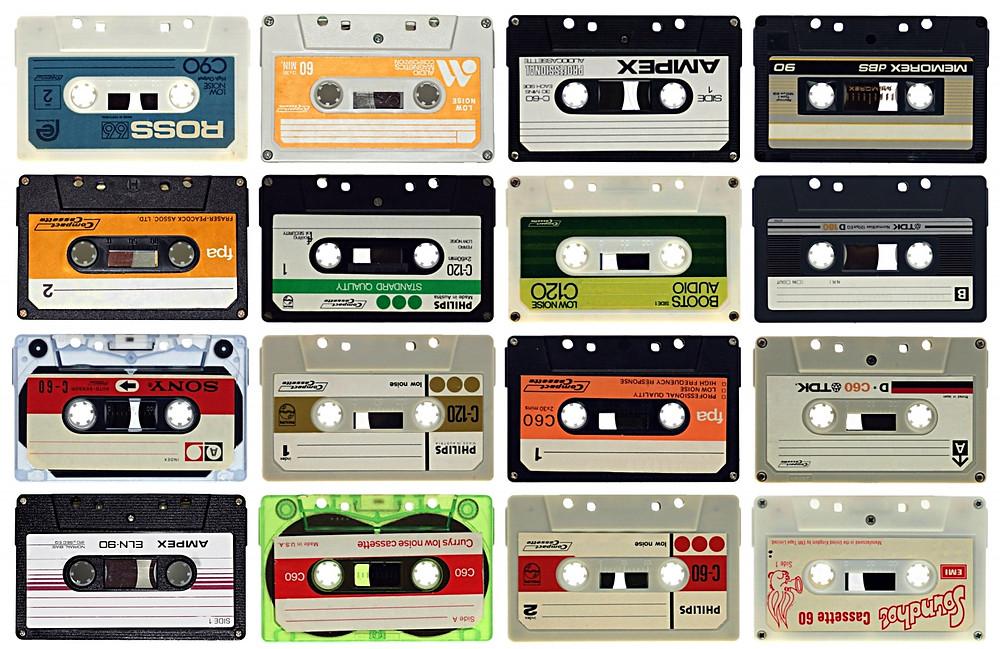 оцифровка аудио, оцифровка аудиокассет, оцифровка бабин