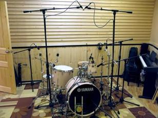 Запись барабанов. Как первый шаг при записи альбома.
