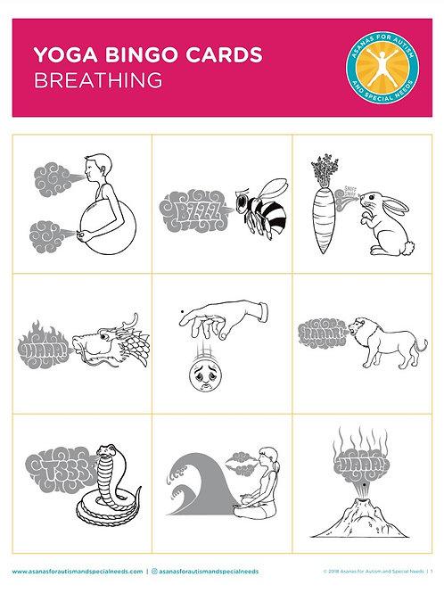 Printable Yoga Bingo