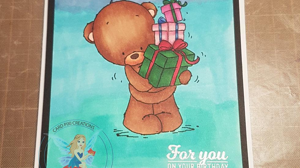 Bear & presents