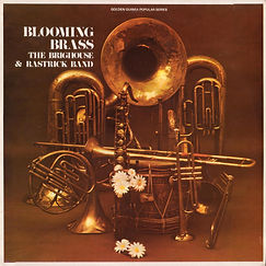 Brighouse and Rastrick-Blooming Brass LP Record Cover