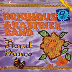 Brighouse and Rastrick-The Floral Dance 1978 LP Record Cover