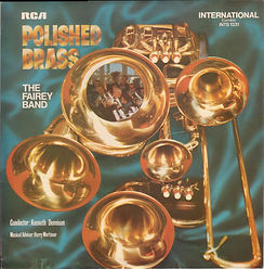 The Fairey Engineering Band - Polished Brass LP Record Cover
