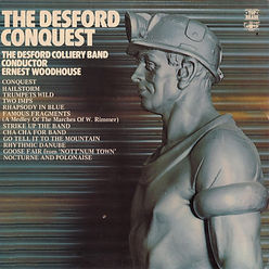Desford Colliery-Conquest LP Record Cover
