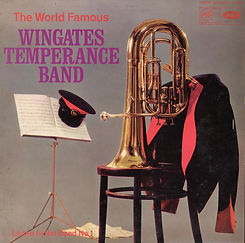 Wingates Temperance Band - Listen to the Band No1  LP Record Cover
