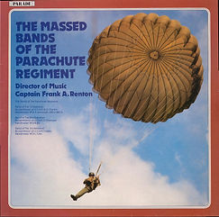 Parachute Regiment-Massed Bands LP Record cover