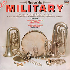 Music of the Military LP Record cover