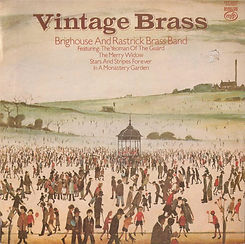 Brighouse and Rastrick--Vintage Brass LP Record Cover