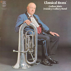 carlton main frickley--Classical Brass LP Record Cover