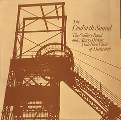 Dodworth Colliery Band - the Dod'orth Sound LP Record Cover