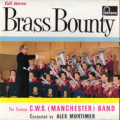 C W S Manchester-Brass Bounty LP Record Cover