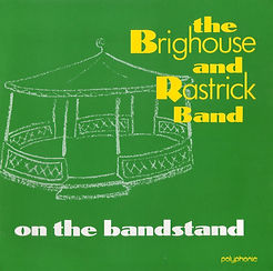 Brighouse and Rastrick-On The Bandstand LP Record Cover