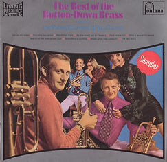 Button Down Brass-The Best of LP Record Cover