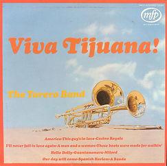 Torero Band-Viva Tijuana LP Record Cover