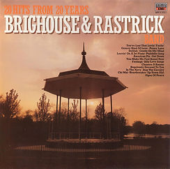 Brighouse and Rastrick-20 hits From 20 Years LP Record Cover