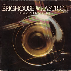 Brighouse and Rastrick - In a Classical Mood LP Record Cover