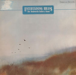 Dodworth Colliery Band-Entertaining Brass LP Record Cover