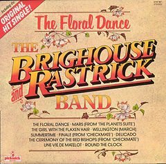 Brighouse and Rastrick-The Floral Dance 1975 LP Record Cover