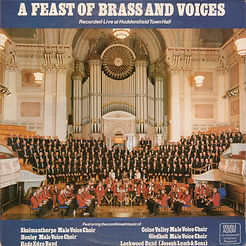 A Feast Of Brass And Voice's  LP Record Cover