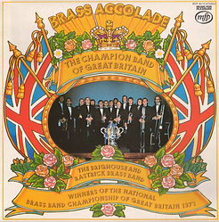 Brighouse and Rastrick-Brass Accolade LP Record Cover