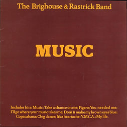 Brighouse and Rastrick-Music LP Record Cover