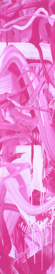 Sans titre (PR122PW6 001-007), 2012, acrylique sur toile, 130 x 97 cm