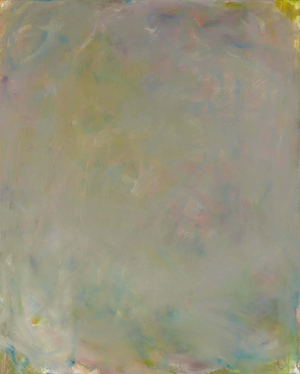 Sans titre (LA 01-04), 2019, acrylique sur toile, 81 x 65 cm