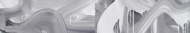 Sans titre (VS 003-004), 2013, acrylique sur toile, 120 x 120 cm