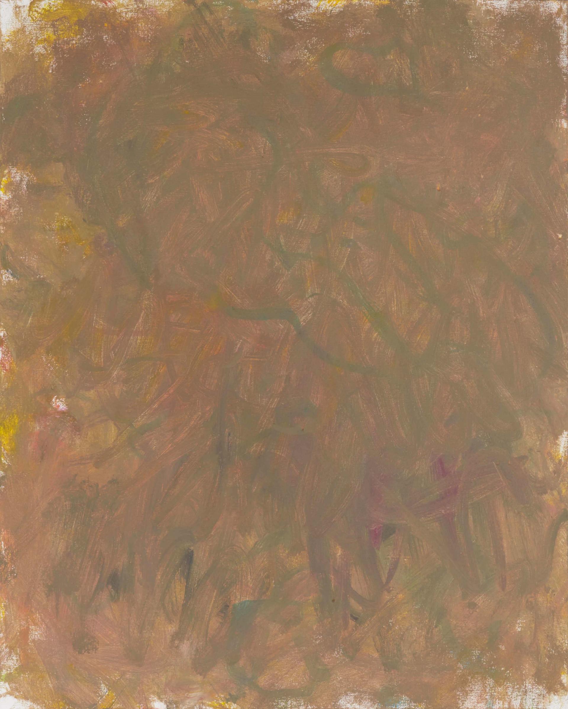 Sans titre (LA 01-08), 2019, acrylique sur toile, 81 x 65 cm