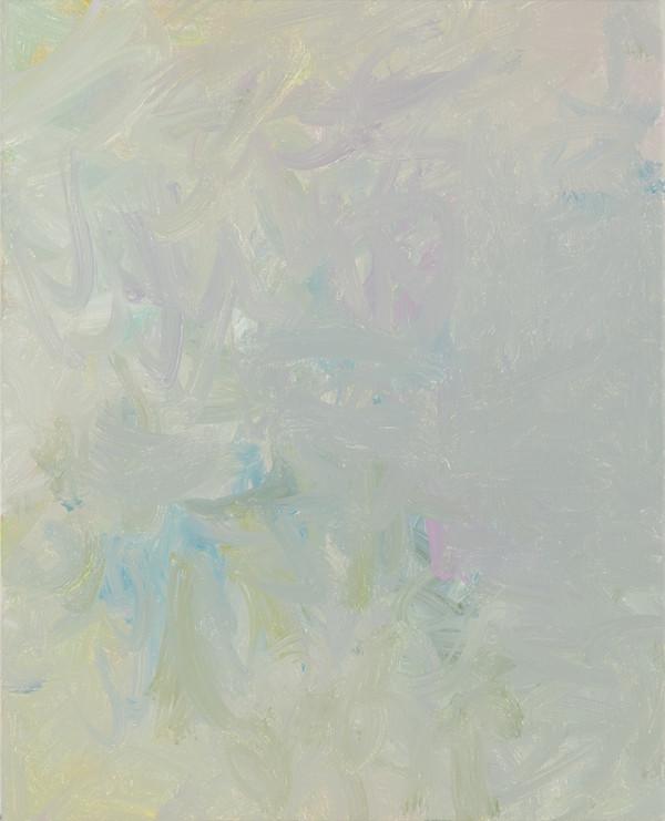 Sans titre (BG 01-06), 2017, acrylique sur toile, 41 x 33 cm