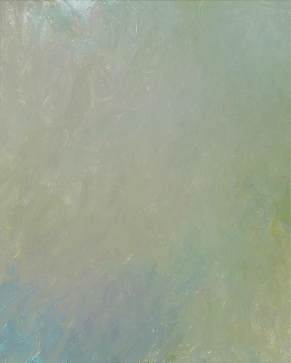 Sans titre (BG 02-05), 2018, acrylique sur toile, 41 x 33 cm