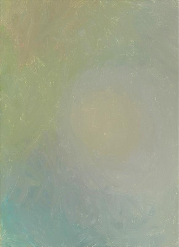 Sans titre (BG 03-06), 2018, acrylique sur toile, 33 x 22 cm