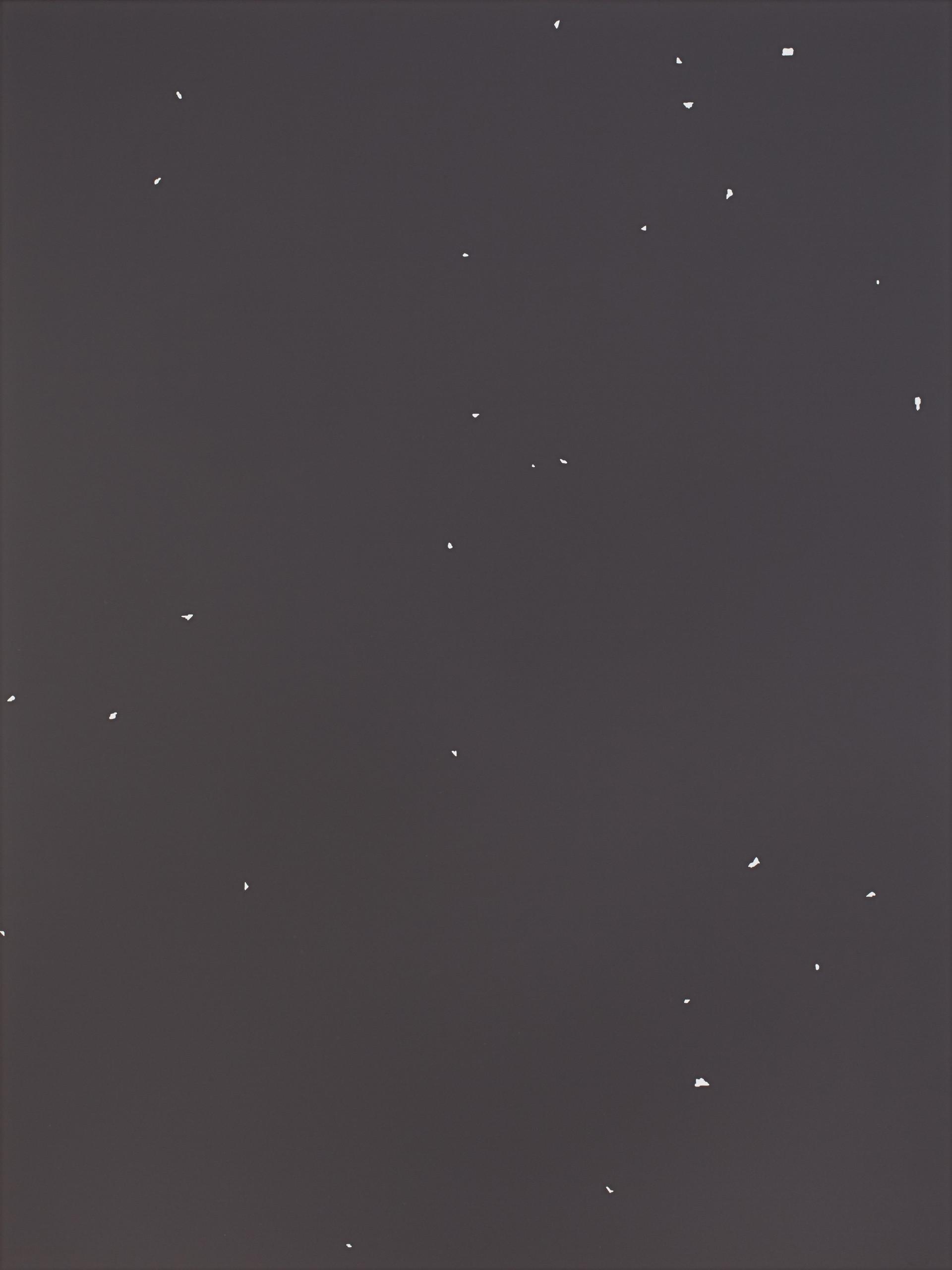 Sans titre (Site 09-01), 2018, acrylique sur toile, 160 x 120 cm