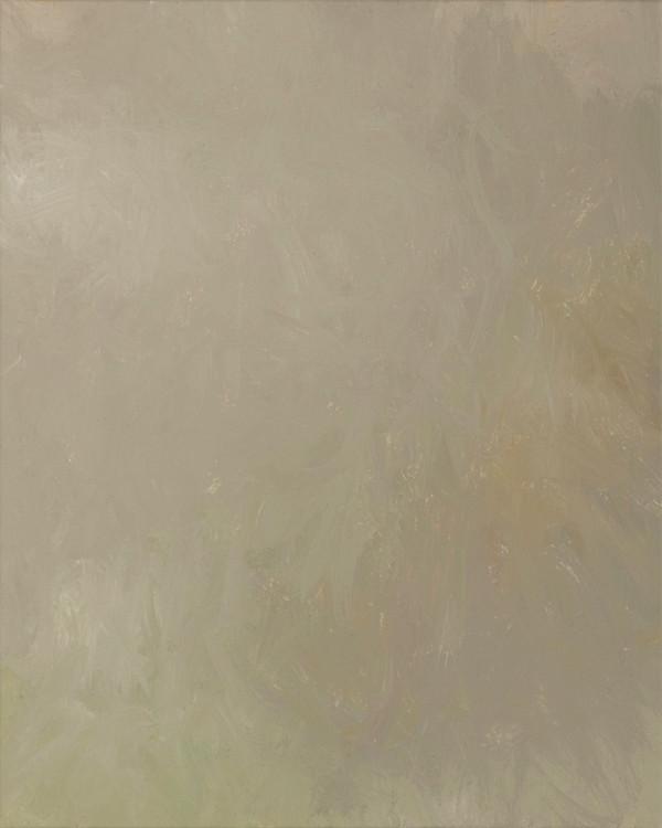 Sans titre (BG 02-06), 2018, acrylique sur toile, 41 x 33 cm