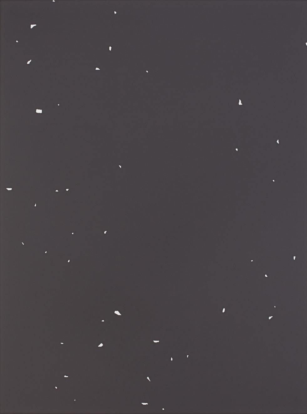 Sans titre (Site 08-01), 2018, acrylique sur toile, 130 x 97 cm