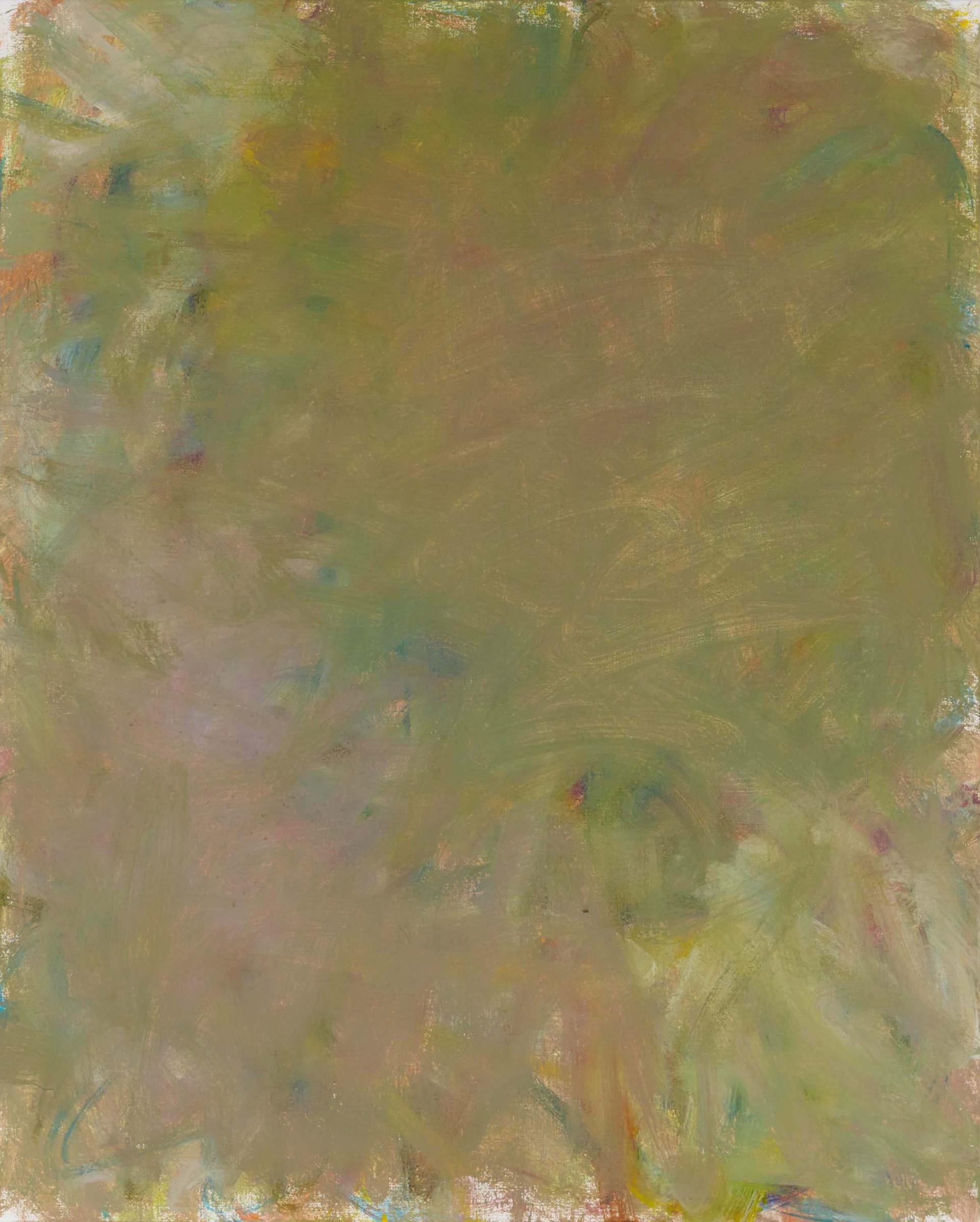 Sans titre (LA 01-09), 2019, acrylique sur toile, 81 x 65 cm