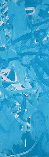 Sans titre (PB15:3PG7PW6 001-001), 2010, acrylique sur toile, 130 x 97 cm
