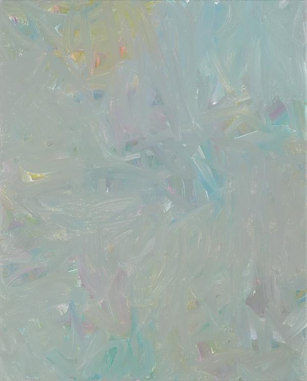 Sans titre (BG 01-05), 2017, acrylique sur toile, 41 x 33 cm