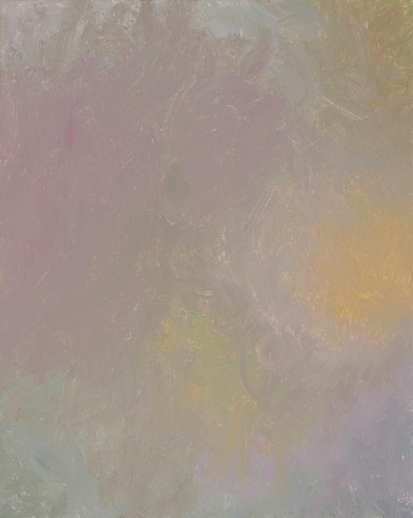 Sans titre (BG 02-15), 2018, acrylique sur toile, 41 x 33 cm