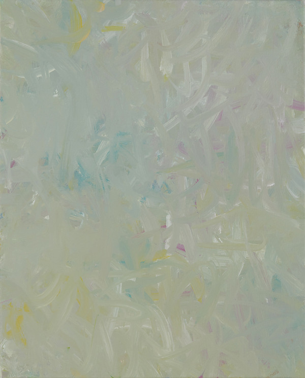 Sans titre (BG 01-03), 2017, acrylique sur toile, 41 x 33 cm