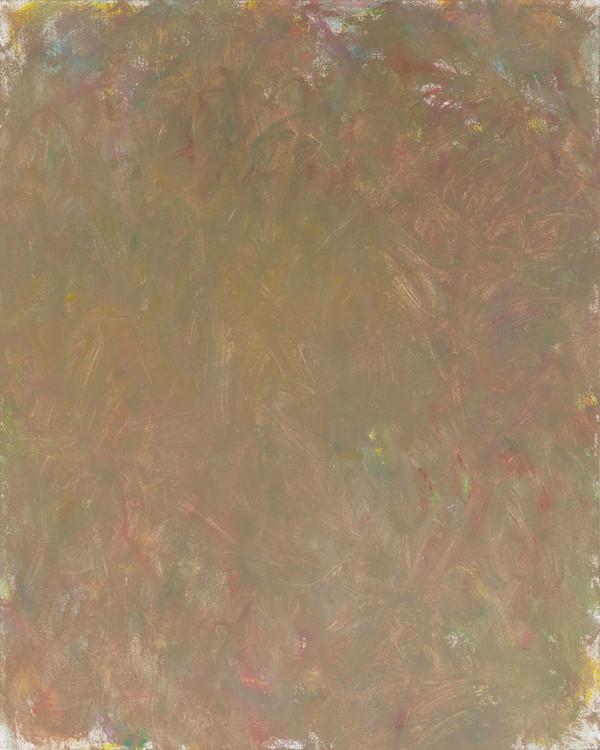 Sans titre (LA 01-10), 2019, acrylique sur toile, 81 x 65 cm