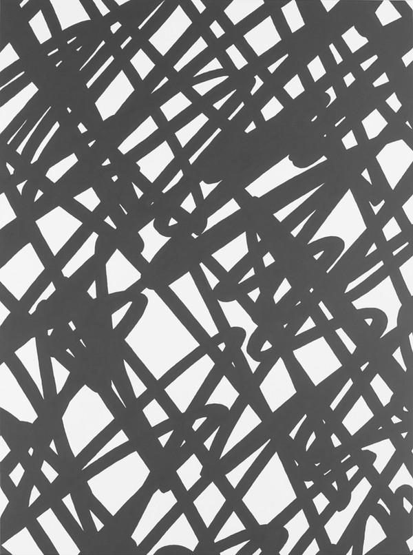 Sans titre (Site 05-02), 2017, acrylique sur toile, 130 x 97 cm