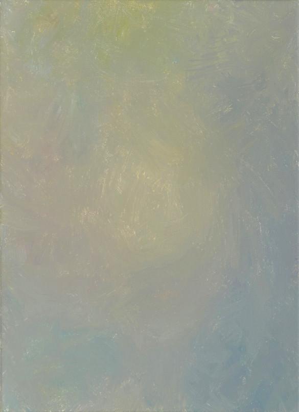 Sans titre (BG 03-04), 2018, acrylique sur toile, 33 x 22 cm