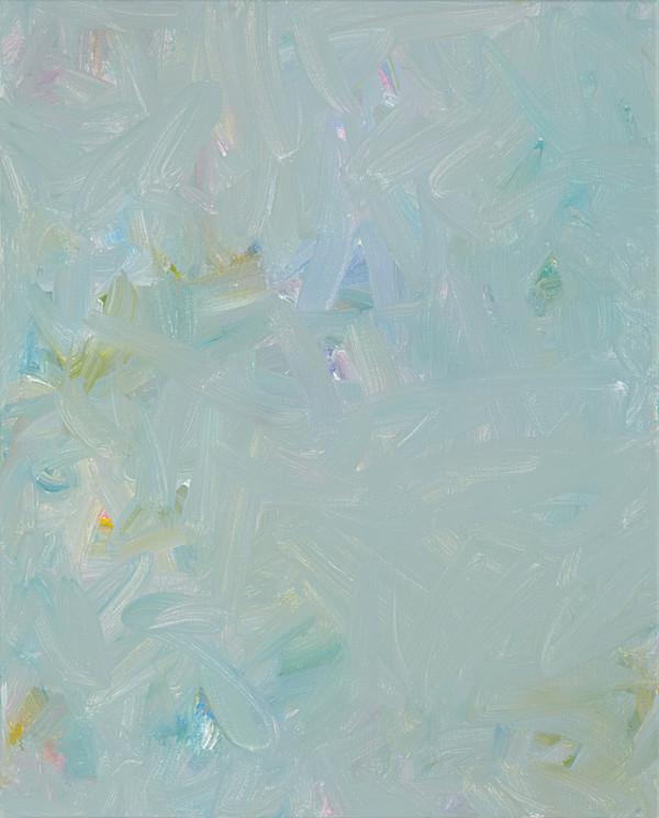 Sans titre (BG 01-01), 2017, acrylique sur toile, 41 x 33 cm