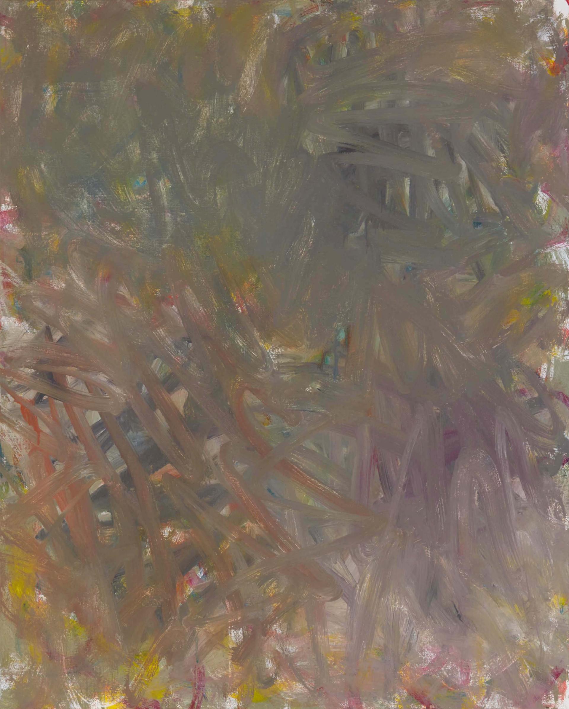 Sans titre (LA 01-15), 2019, acrylique sur toile, 81 x 65 cm