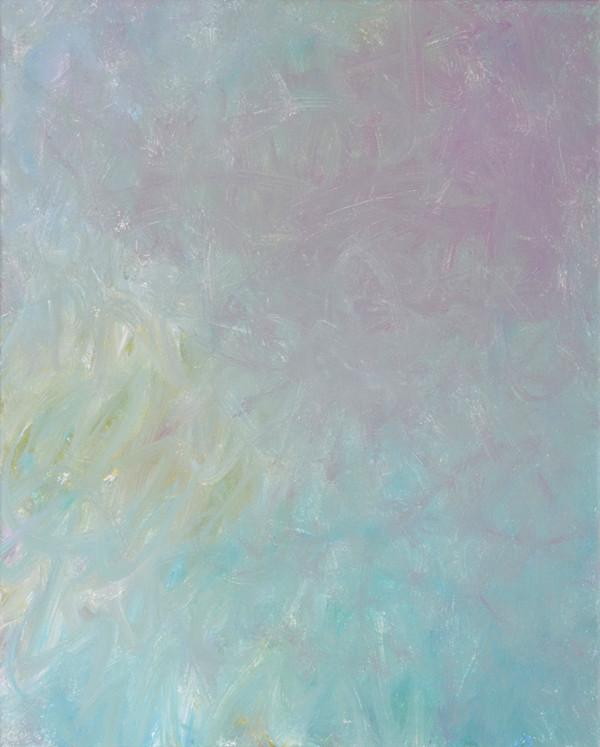 Sans titre (BG 02-13), 2018, acrylique sur toile, 41 x 33 cm